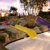 Slides at KeyLime Cove Indoor WaterPark Resort