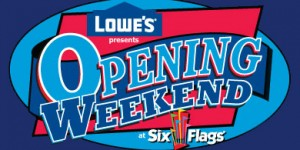 Six Flags: Great America Opening Day