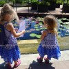 Kids enjoying Chicago Botanic Garden