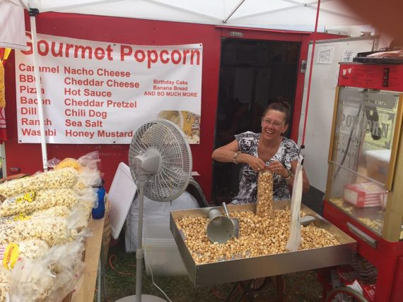 Two Guys Popcorn at the Lake County Fair