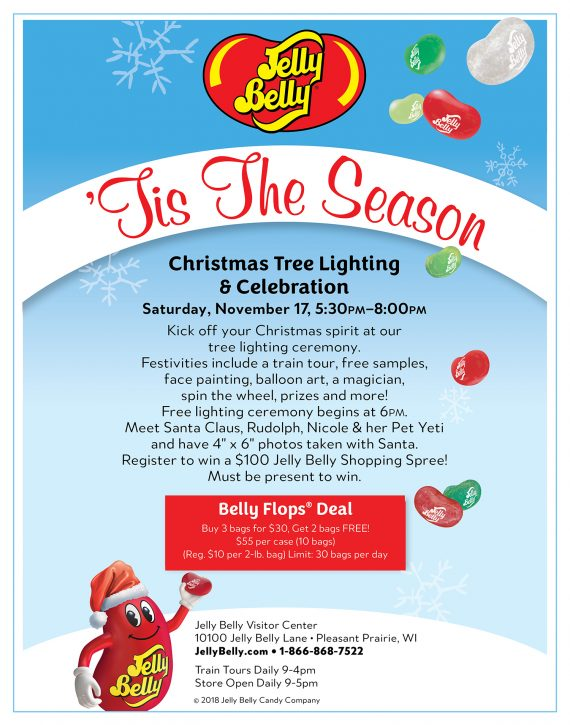 Jelly Belly Tree Lighting